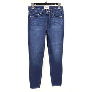 Paige Hoxton Ankle Jeans Blue Medium Wash 27